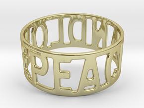 Peaceandlove 75 Bracelet in 18k Gold
