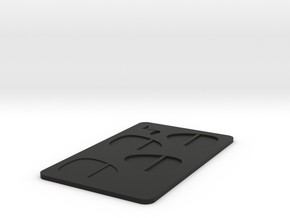 PICK Card in Black Natural Versatile Plastic