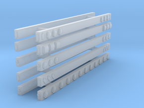 1/50th Semi Truck Light Bars set of 10 in Smooth Fine Detail Plastic
