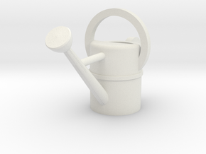 1:24 Watering Can in White Natural Versatile Plastic