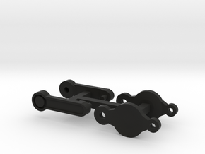 Axial SCX10 Jeep NuKizer Door Handles in Black Strong & Flexible