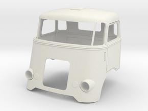 Grill-6-SP-cab in White Natural Versatile Plastic