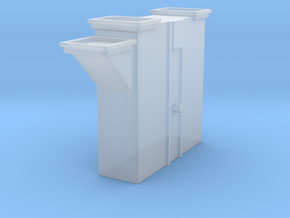 'N Scale' - Bucket Elevator-Boot in Smooth Fine Detail Plastic