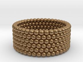 V3 - Ring in Raw Brass