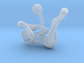 3D-Monkeys 364 in Smooth Fine Detail Plastic