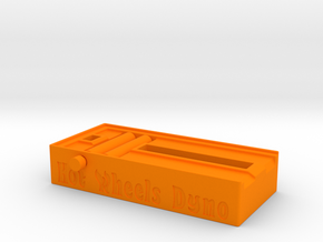 Hotwheels Dyno 1:64 Scale - Display Stand in Orange Processed Versatile Plastic