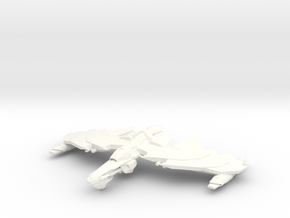 GhostHawk Class VI Refit  BattleCruiser in White Processed Versatile Plastic