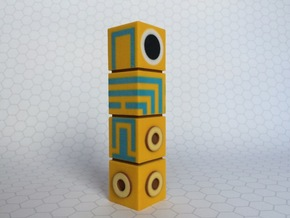 Monument Valley Totem Figurine in Full Color Sandstone