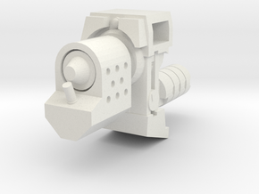 Ratchetrooper Weapon 07 - Flamethrower in White Natural Versatile Plastic