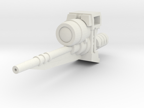 Ratchetrooper Weapon 06 - Sniper Laser in White Natural Versatile Plastic