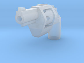 Ratchetrooper Weapon H01 - Revolver in Smooth Fine Detail Plastic