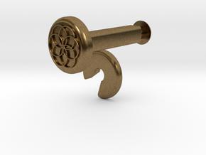 XuGong V2 - Locks for Vibration Dampers in Natural Bronze