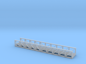 N Pipe Rack Truss 77mm FUD in Smooth Fine Detail Plastic