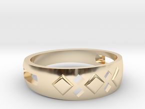 EA-design 06 in 14k Gold Plated Brass
