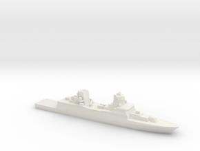 FGS F125 Class Frigate, 1/2400 in White Natural Versatile Plastic