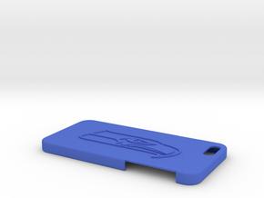 104102237張家偉 手機殼 in Blue Strong & Flexible Polished