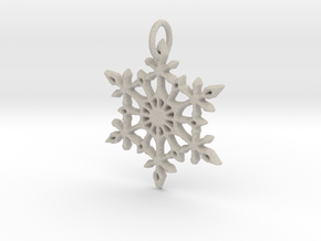 Snowflake in Natural Sandstone