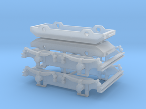 900-100 ZE AB1-6 B1-5 Draaistel Bogie in Smooth Fine Detail Plastic