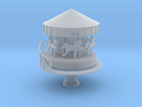 Carousel - Zscale in Smooth Fine Detail Plastic