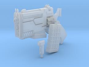 D Pool BIG A** SCIFI Blaster Gun Super Comic Hero  in Smooth Fine Detail Plastic