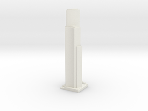 Seattle King Building  in White Natural Versatile Plastic