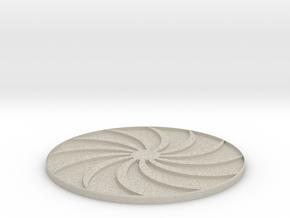 Sun Art Coasters in Natural Sandstone