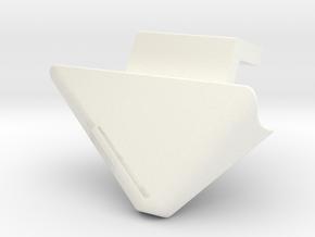 Ptdf Gauche in White Processed Versatile Plastic
