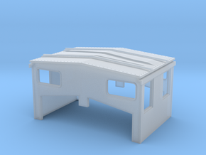 S Scale EV Cupola SLSF 1285-92 in Frosted Ultra Detail