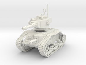 15mm Space Empire Tank in White Strong & Flexible