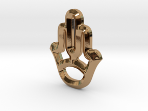 Symbol in Polished Brass