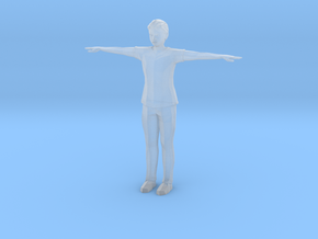 Low Poly Male in Smooth Fine Detail Plastic