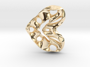 LoveHeart RoyalModel in 14K Yellow Gold