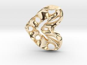 LoveHeart RoyalModel in 14K Gold