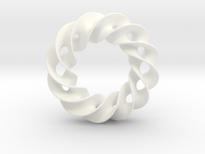 Jewelry in White Processed Versatile Plastic
