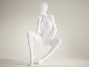 Long Leg Lady scale 1/10 020 in White Strong & Flexible Polished