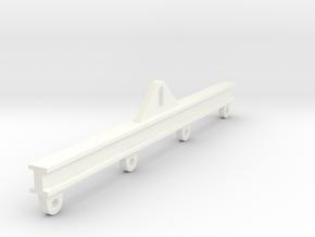 1/50 Load Spreader Bar (Rectangular) in White Processed Versatile Plastic