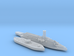 1:1200 Ironclad USS Monitor & CSS Virginia in Frosted Ultra Detail