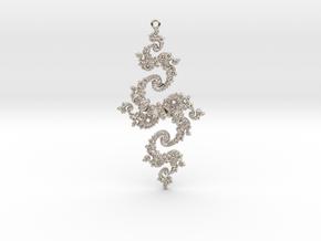 Julia Pendant 1 HP0 in Platinum