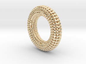Hole Ring in 14K Yellow Gold