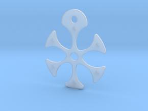 Flower Necklace - Part 2 - Metallic in Smooth Fine Detail Plastic