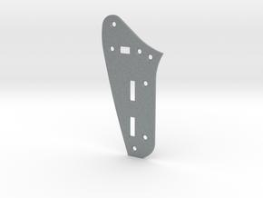 Jaguar Rhythm Circuit Plate - Standard in Polished Metallic Plastic