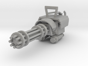 MiniGun in Raw Aluminum