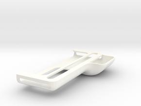Kindle Fire 7in screen Sound Amplifier Attachment in White Processed Versatile Plastic