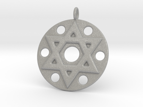 Star Of David in Aluminum