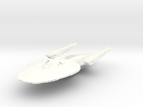 Star Class II in White Strong & Flexible Polished