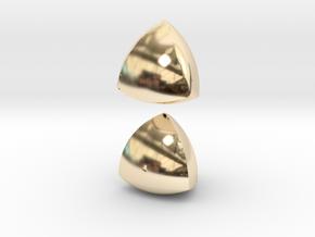 Meissner Tetrahedra in 14K Gold