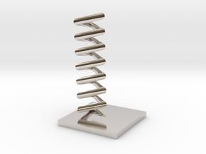 Triangular helix in Platinum