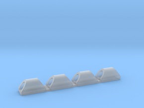 KR Cable Holders in Smooth Fine Detail Plastic