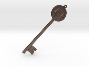 Shield in Matte Bronze Steel