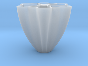 Pillar-base for Palmiga Globe Bouquet Vase in Smooth Fine Detail Plastic